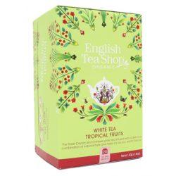 English Tea Shop Bio Fehér tea - Trópusi gyümölcs 20 filter