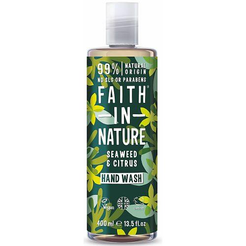 Faith in Nature Bio tengeri hínár folyékony kézmosó 400ml
