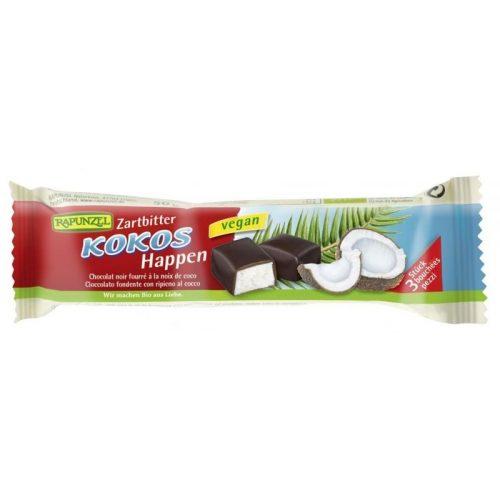 Rapunzel Kókuszkockák étcsokoládé bevonattal (3db)