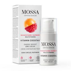 MOSSA Vitamin Cocktail Energetizáló szemkörnyékápoló krém 15ml