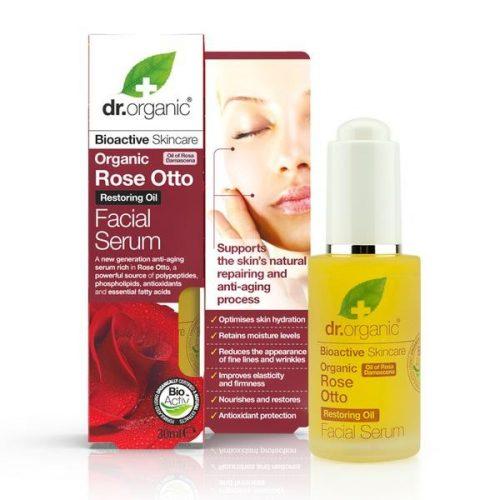 Dr. Organic Damaszkuszi rózsaolaj szérum 30ml
