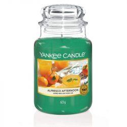Yankee Candle Alfresco Afternoon nagy üveggyertya