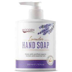 Wooden Spoon Bio folyékony szappan Levendula