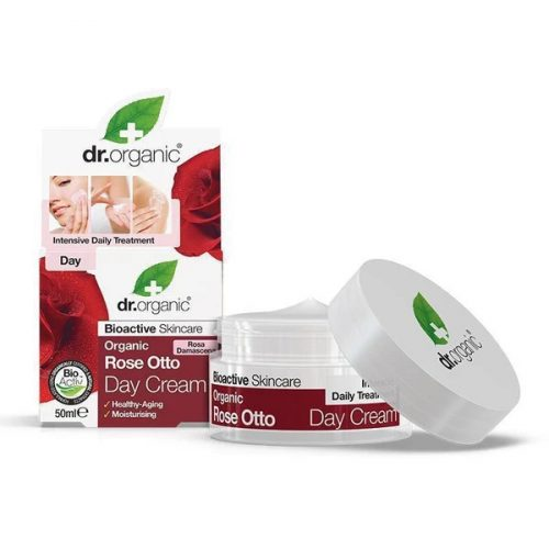 Dr. Organic Bio Damaszkuszi rózsaolaj Nappali krém 50ml