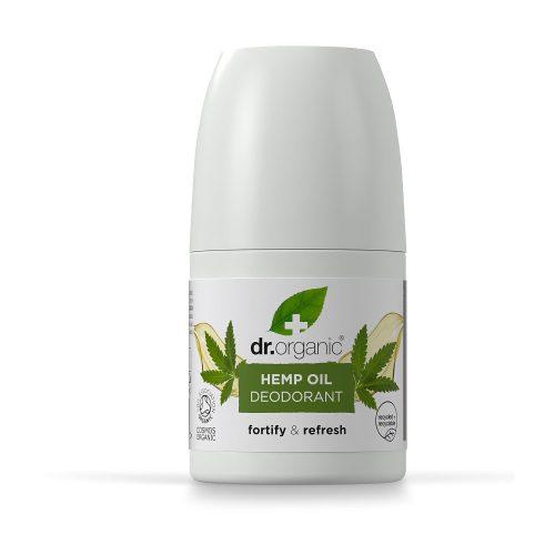 Dr. Organic Bioaktív Kendermagolaj Alumíniummentes golyós dezodor 50ml