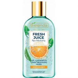 Bielenda Fresh Juice hidratáló micellás arctisztító - Narancs