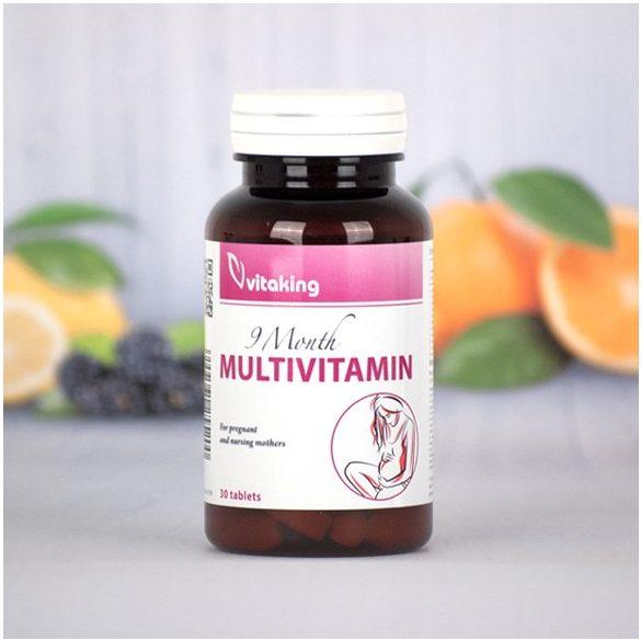 Vitaking 9 hónap multivitamin (30db)