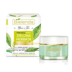 Bielenda Zöld Tea Mattító nappali arckrém