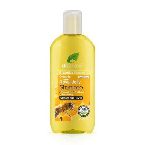 Dr. Organic Sampon bio méhpempővel