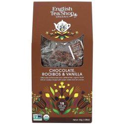 English Tea Shop Csokoládé és Vanília tea Selyemfilterben