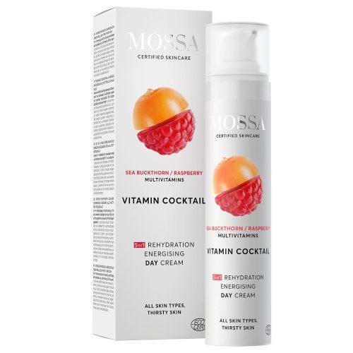 MOSSA Vitamin Cocktail Intenzív hidratáló és energetizáló nappali krém 50ml