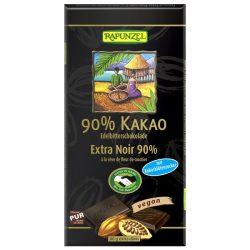 Rapunzel Svájci étcsokoládé 90%-os kakaótartalommal 80g
