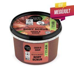 """Organic Shop """"Belga Csokoládé"""" cukros testradír"""