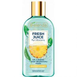 Bielenda Fresh Juice Bőrszínjavító micellás arctisztító - Ananász