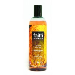 Faith in Nature Kurkuma és Citrom Sampon  400ml