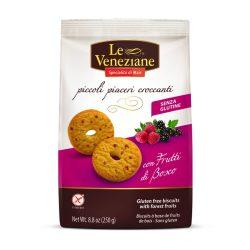 Le Veneziane gluténmentes gyümölcsös keksz