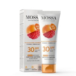 MOSSA 365 Napos védelem - minősített natúr fényvédő arcra SPF30