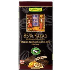 Rapunzel Svájci étcsokoládé 85%-os kakaótartalommal 80g
