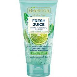Bielenda Fresh Juice Detox hatású arcradír - Lime