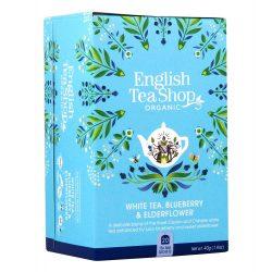 English Tea Shop Bio tea - Áfonya bodza 20 filter