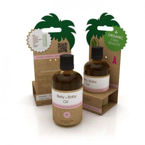 Coconutoil Cosmetics Baba-Mama Masszázsolaj 90ml