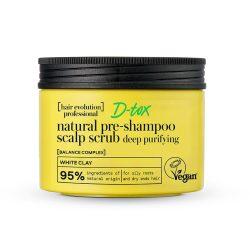 """Natura Siberica Hair Evolution professional """"D-tox"""" természetes fejbőrradír 250ml"""
