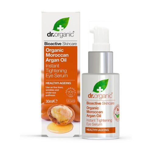 Dr. Organic Marokkói Argánolaj szemkörnyék feszesítő szérum