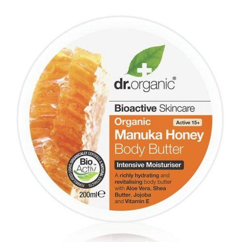 Dr. Organic Bio Manuka méz Testápoló vaj 200ml