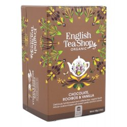 English Tea Shop Bio csokoládés-vaníliás rooibos tea 20 filter