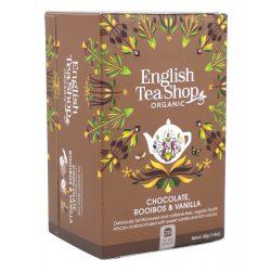 English Tea Shop Bio tea - Csokoládés vanília Rooibos tea 20 filter