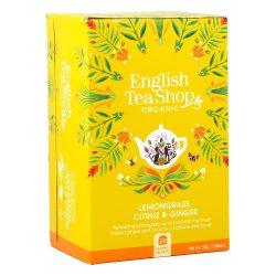English Tea Shop Bio tea - Citromfű és gyömbér 20 filter