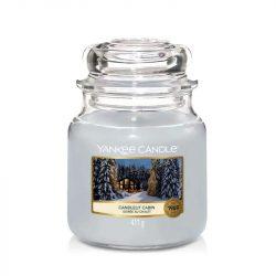 Yankee Candle Candlelit Cabin közepes üveggyertya