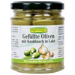 Rapunzel Zöld oliva fokhagymával töltve