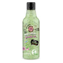 Planeta Organica Skin Super Good natúr tusfürdő organikus uborkával & bazsalikommal 250 ml