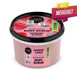 "Organic Shop ""Málna krém"" cukros testradír"