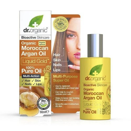 Dr. Organic Marokkói Argánolaj öregedéstgátló arcápoló olaj
