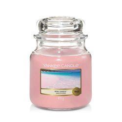 Yankee Candle Pink sands közepes üveggyertya