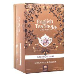 English Tea Shop Bio tea - Kakaó és kókusz 20 filter