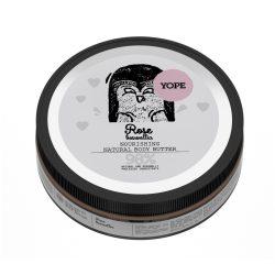 YOPE Rózsa természetes, tápláló testvaj 200ml