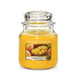 Yankee Candle Mango Peach Salsa közepes üveggyertya