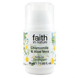 Faith in Nature Aloe Vera és Kamilla golyós dezodor