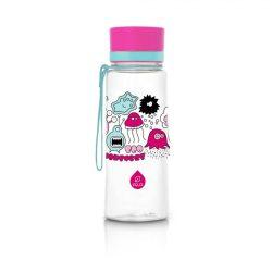 EQUA BPA mentes gyerek műanyag kulacs - Rózsaszín Szörnyecskék