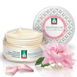MediNatural Shea vajas habkrém damaszkuszi rózsa olajjal