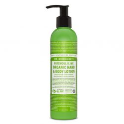 ORGANIC LOTIONS Patchouli Lime