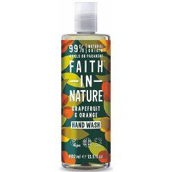 Faith in Nature grapefruit és narancs folyékony kézmosó