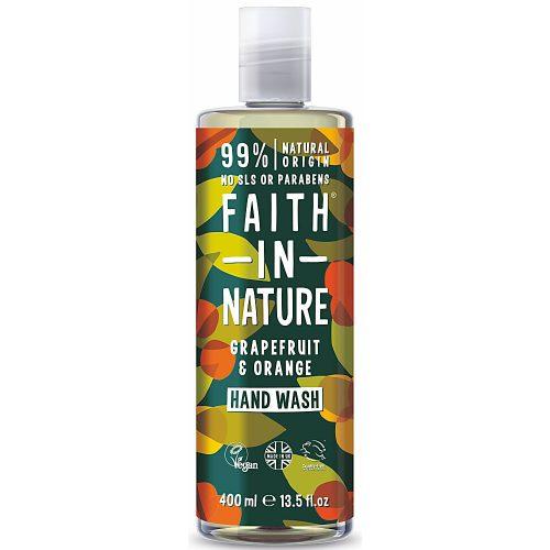 Faith in Nature Grapefruit és Narancs folyékony kézmosó 400ml