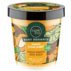 "Organic Shop ""Mango Sugar""  Bőrmegújító cukros testradír"