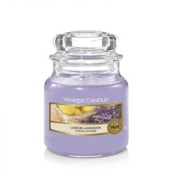 Yankee Candle Lemon Lavender kis üveggyertya