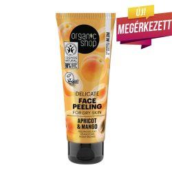 Organic Shop Barackos mangó gyengéd bőrmegújító arcradír