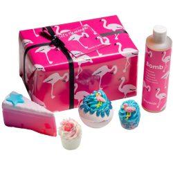 Bomb Cosmetics Rózsaszín flamingó ajándékcsomag